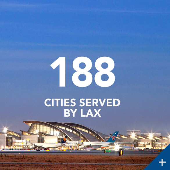 188 Flights Served by LAX