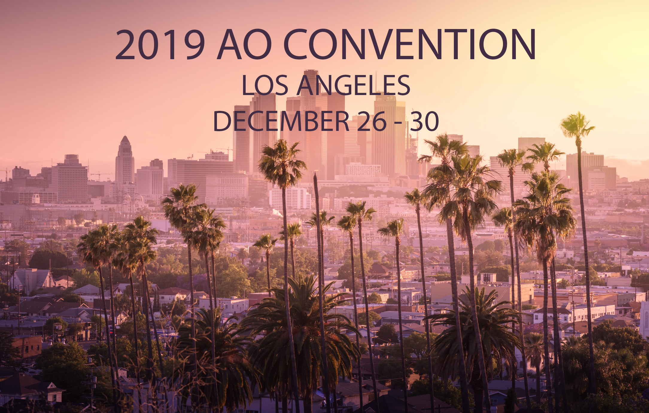 2019 Los Angeles Convention Photo December 26 30