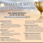AO 2020 Awards Call for Nominations