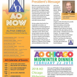 AO Now Member Newsletter - February 2018
